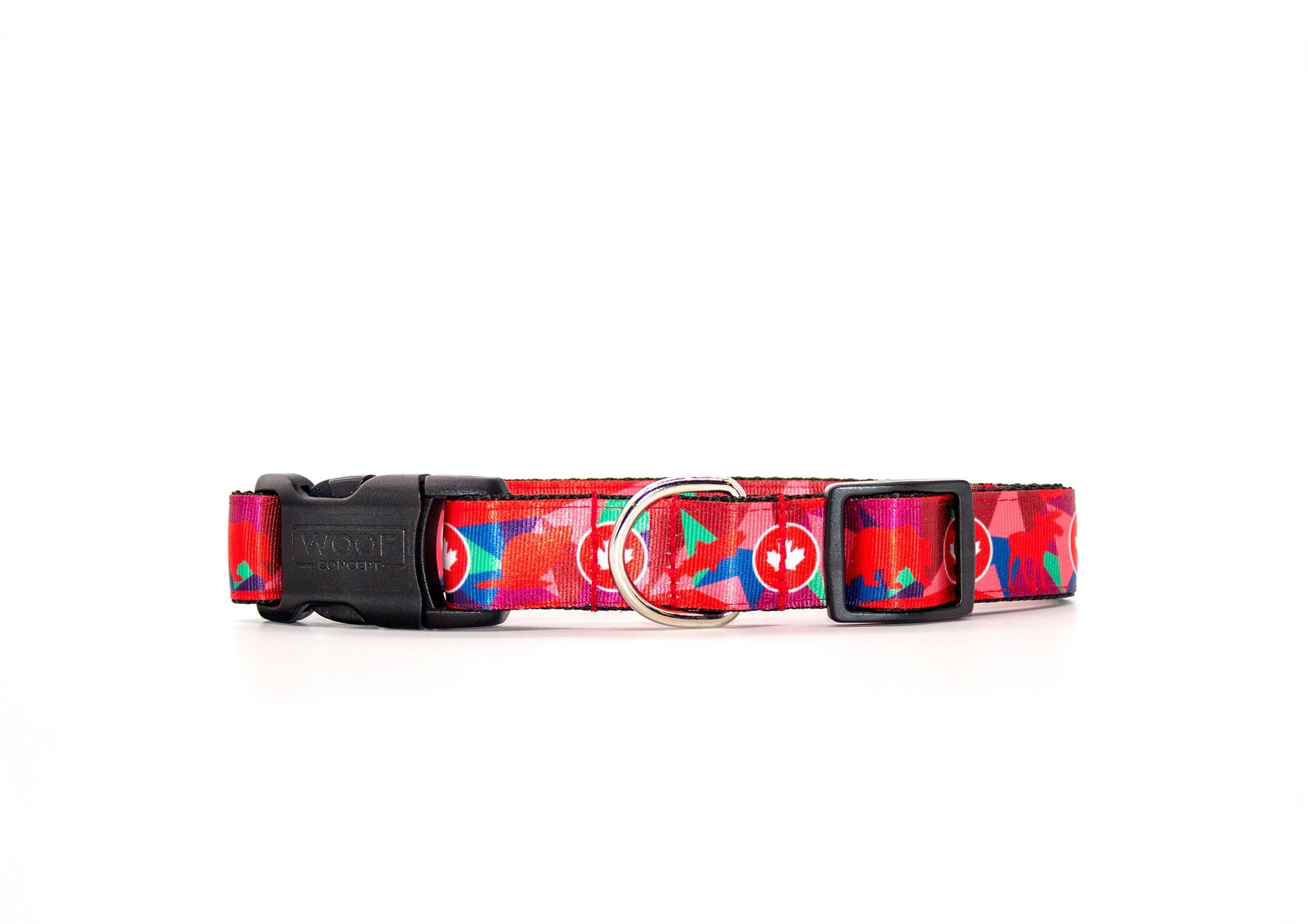 Woof Concept Dog Collar, True North Image