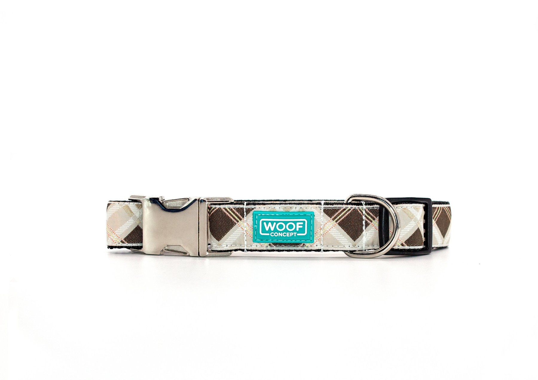 Woof Concept Premium Dog Collar, Sharp, Small