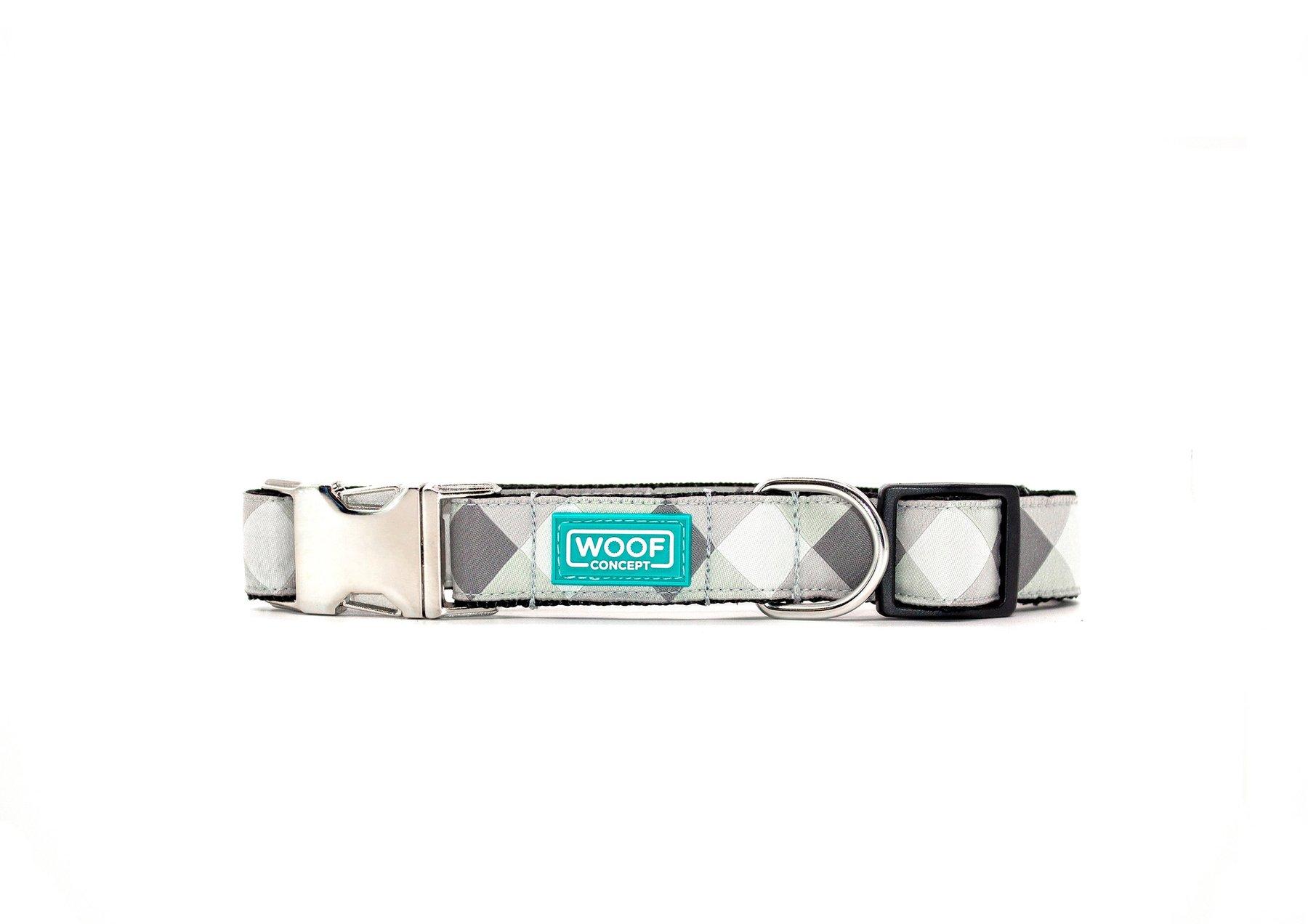Woof Concept Premium Dog Collar, Smart Casual, Medium
