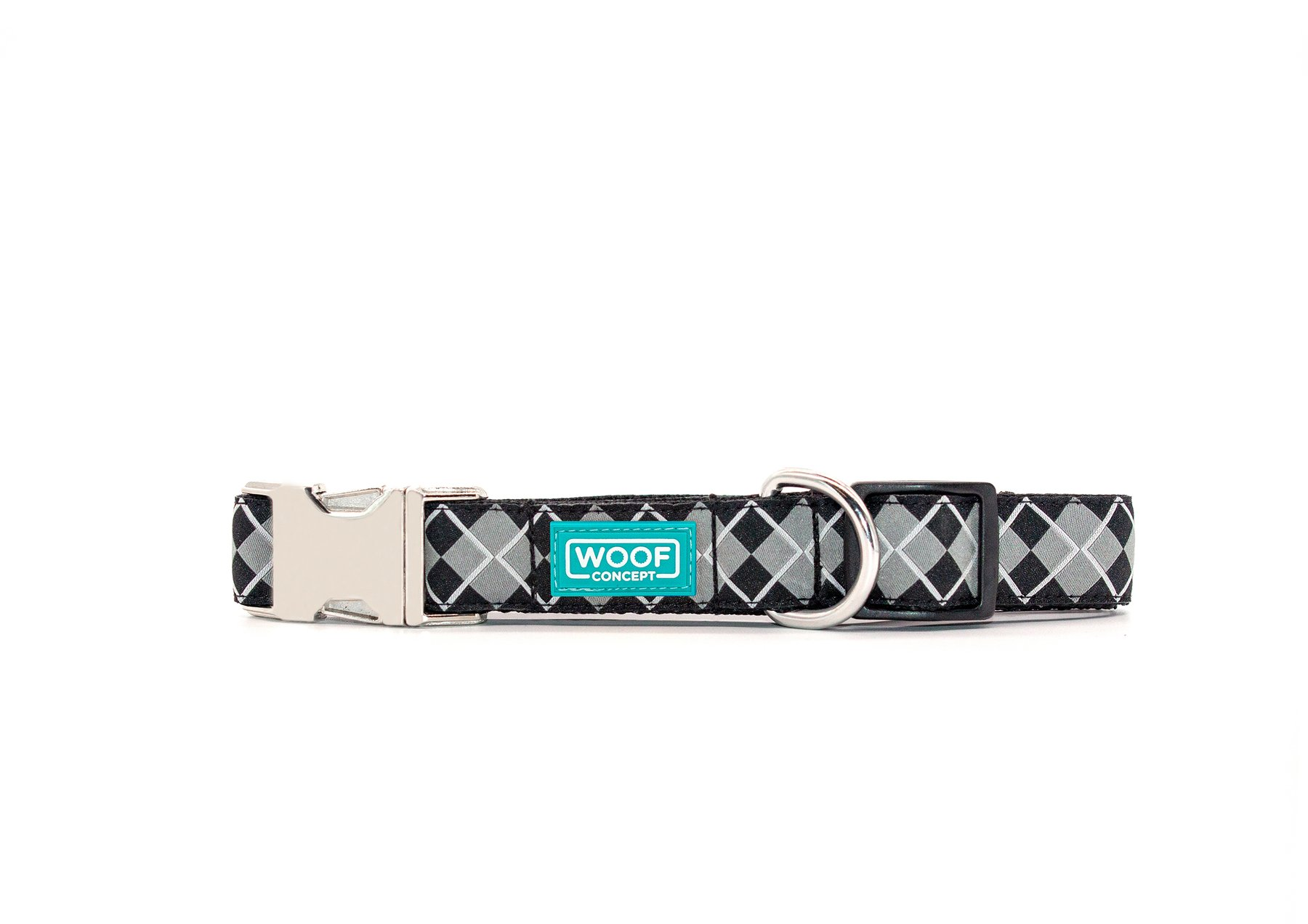 Woof Concept Premium Dog Collar, Royce, Small