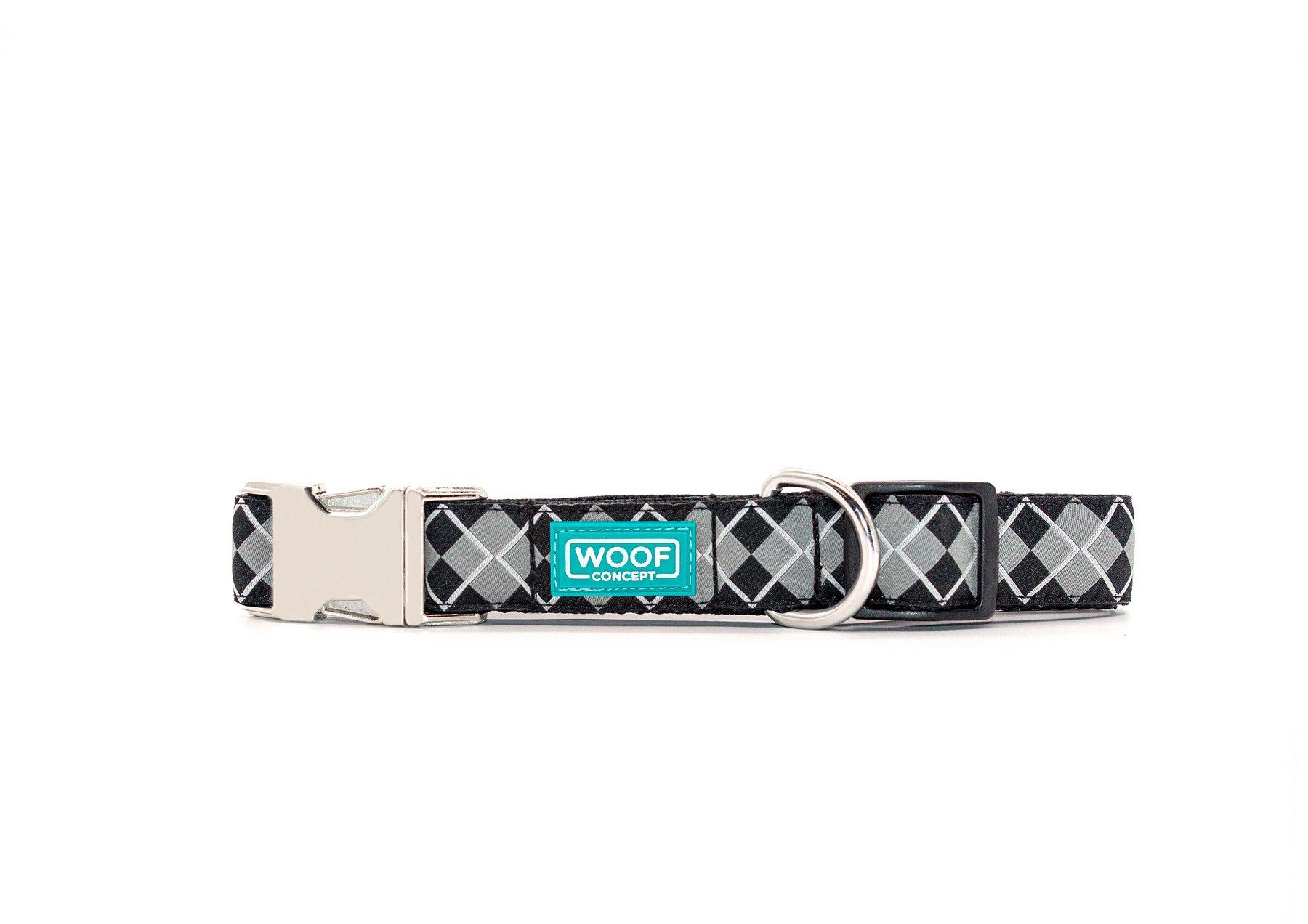 Woof Concept Premium Dog Collar, Royce, Medium