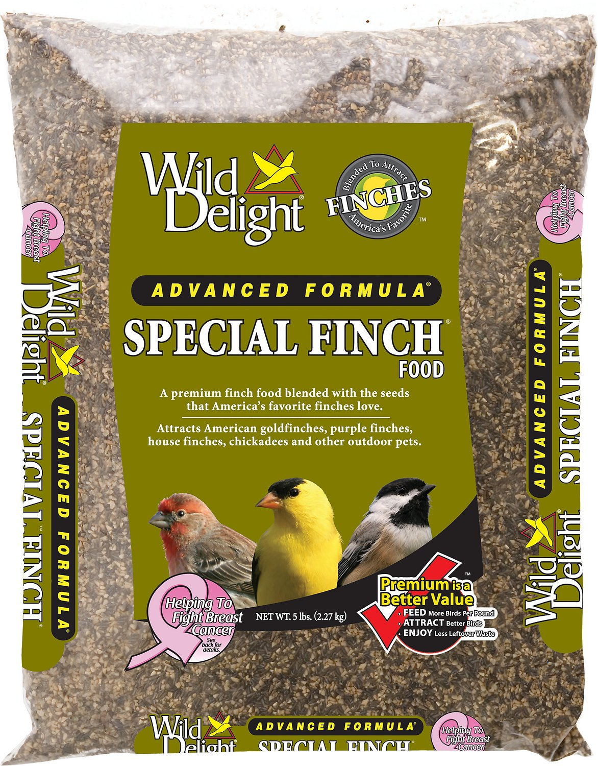 Wild Delight Special Finch Bird Food, 5-lb bag