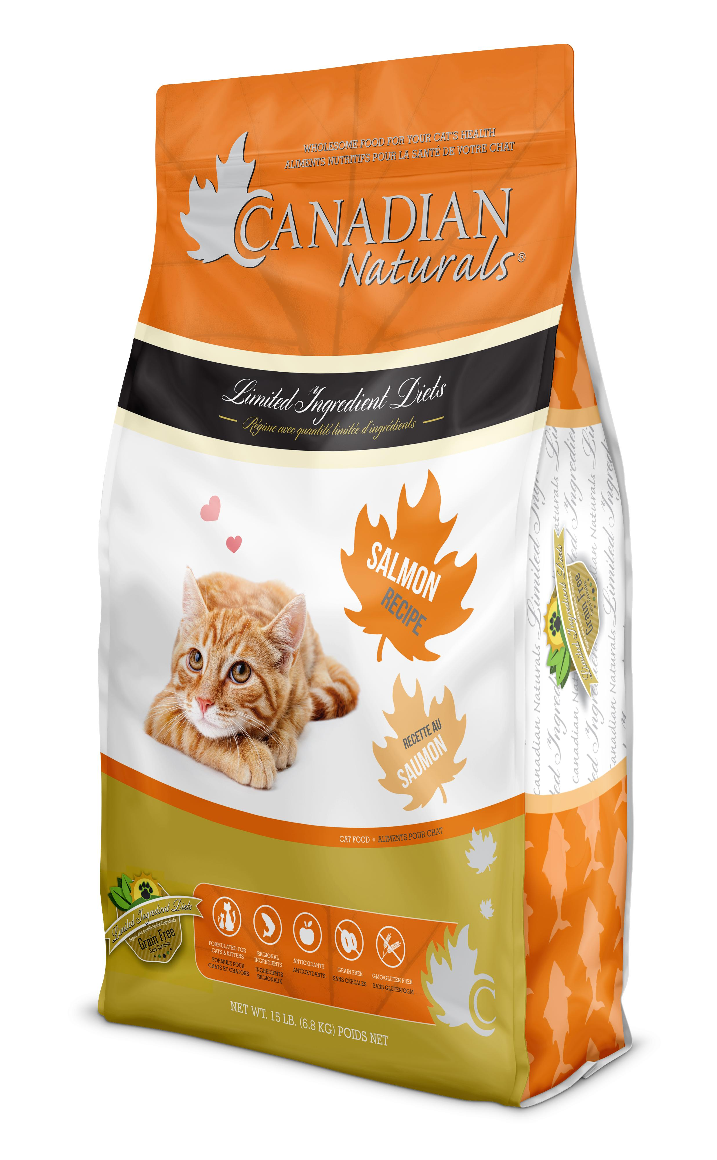 Canadian Naturals LID Salmon Grain-Free Dry Cat Food Image