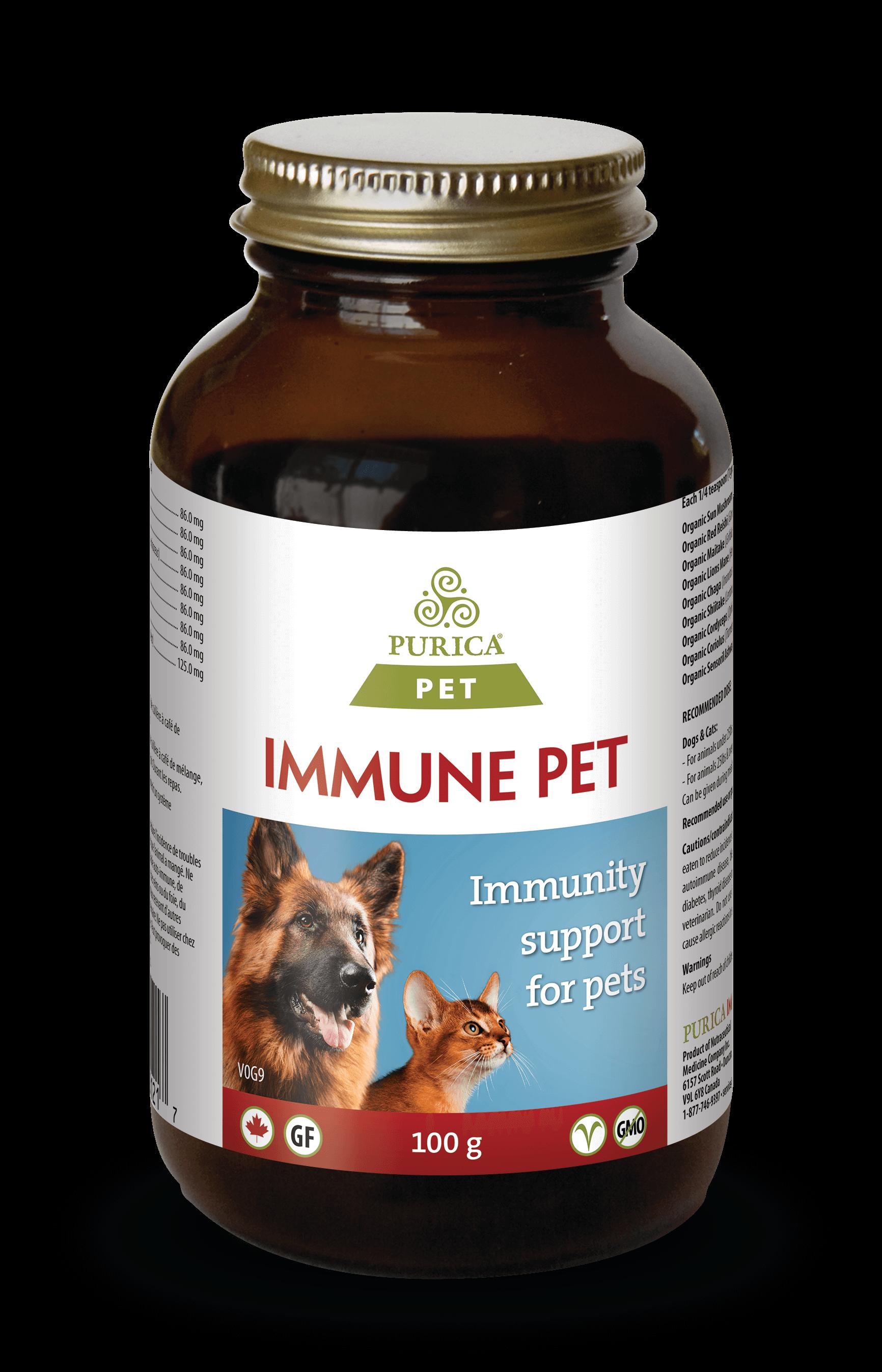 Purica Immune Pet Supplement, 100-gram