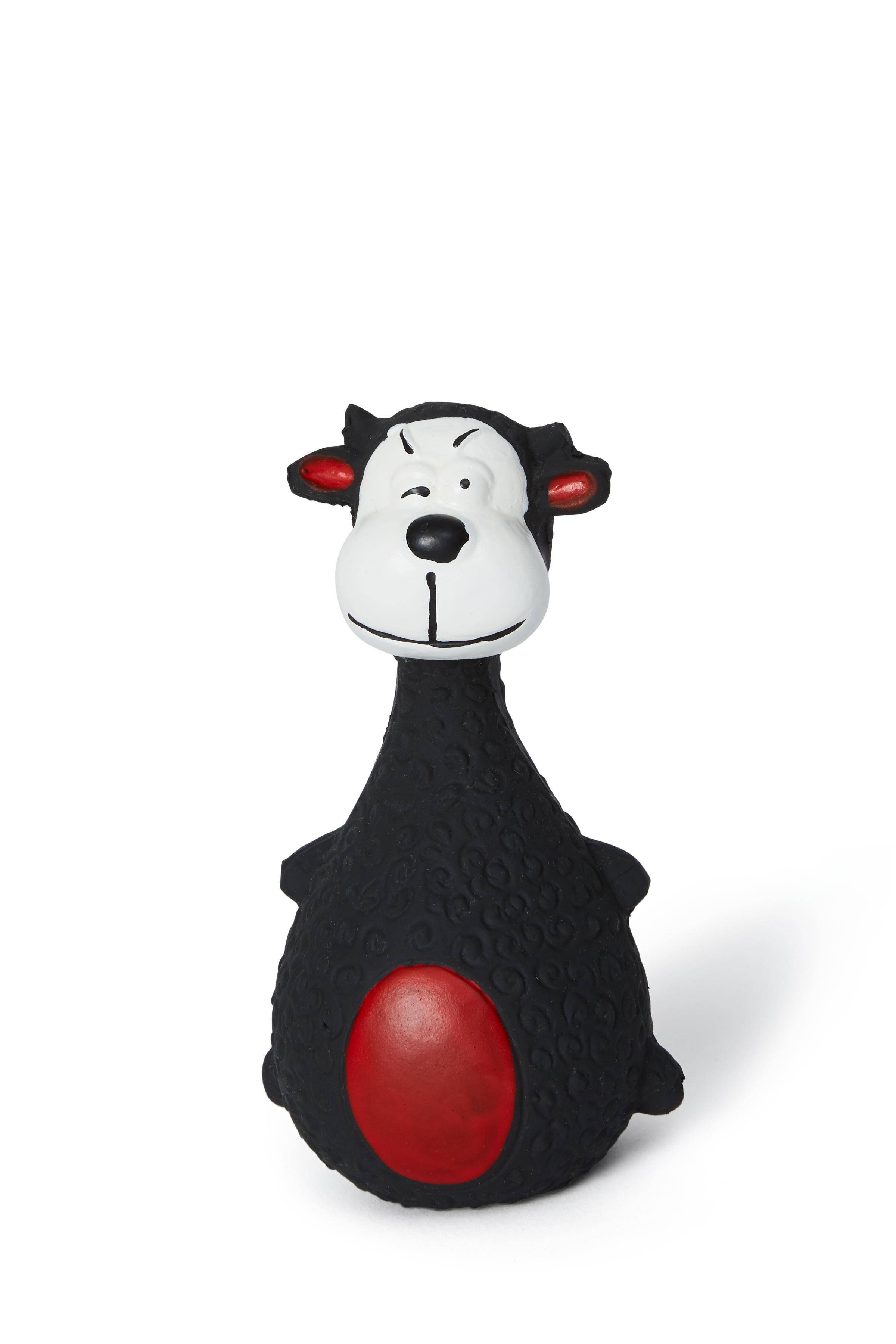 Bud'z Latex Sheep Squeaker Dog Toy, 13-cm