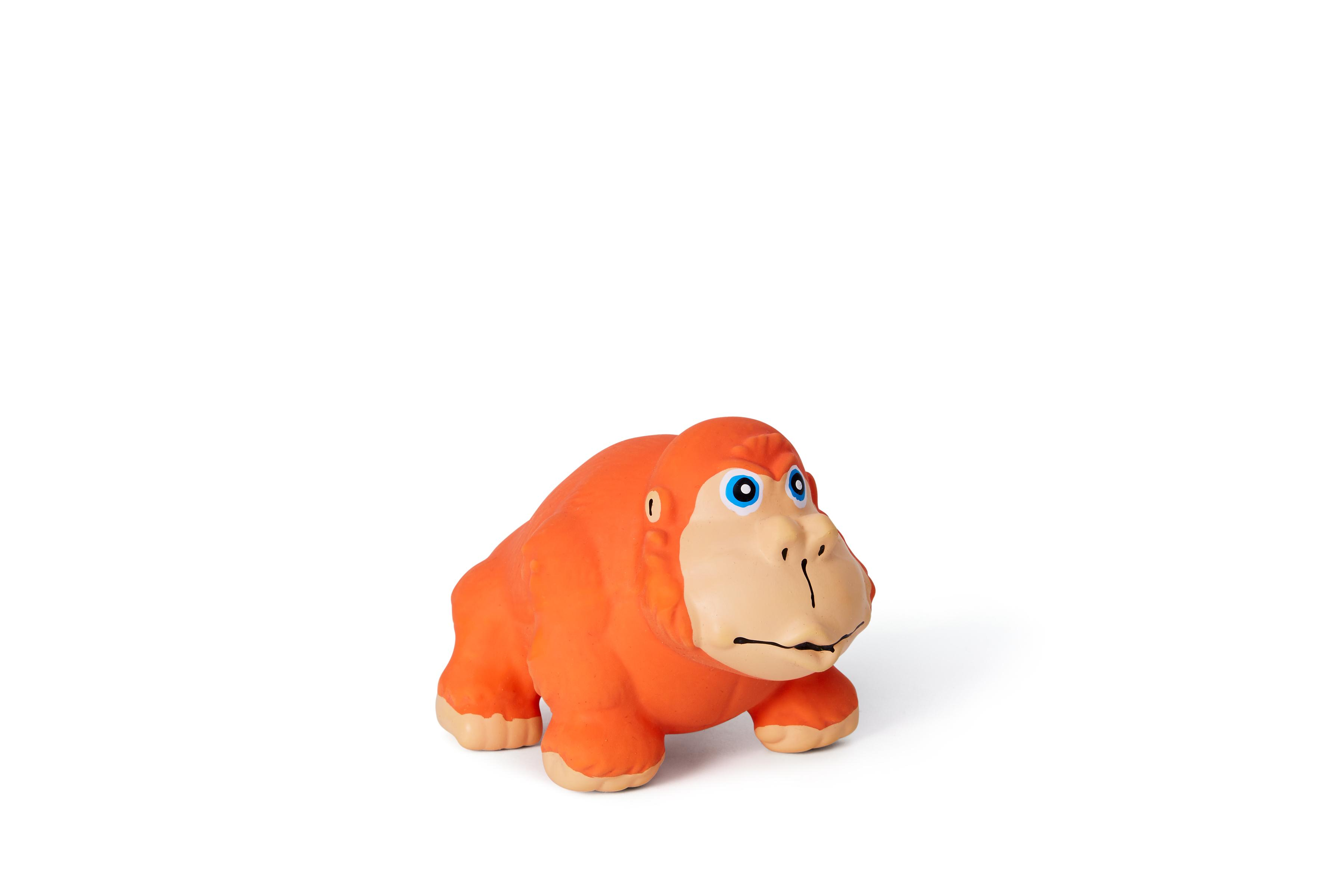 Bud'z Latex Gorilla Squeaker Dog Toy, 11.5-cm (Size: 11.5-cm) Image
