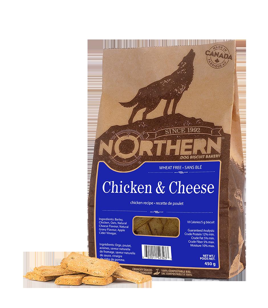 Northern Biscuit Chicken & Cheese Dog Treats, 450-gram