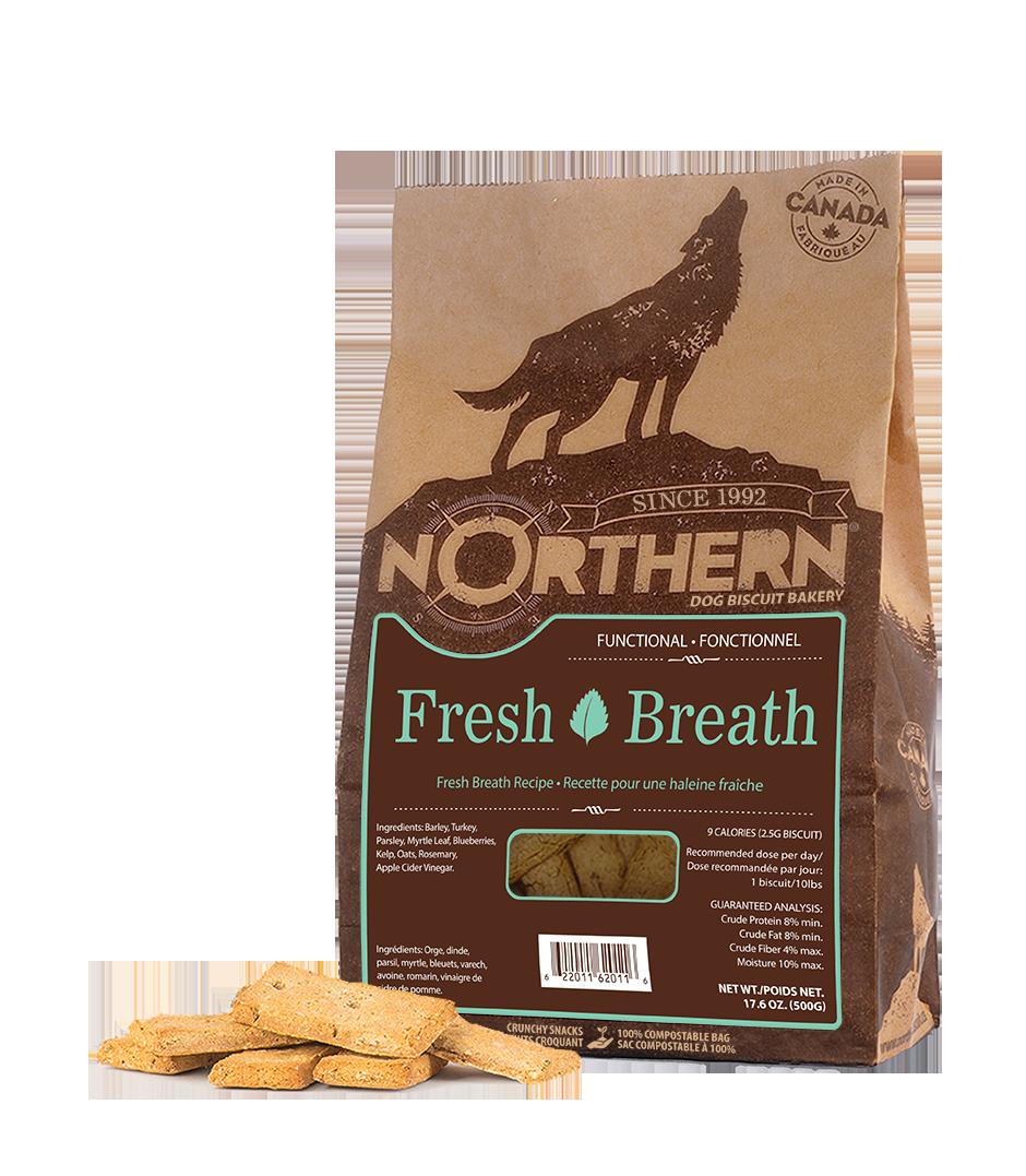 Northern Biscuit Fresh Breath Dog Treats, 500-gram