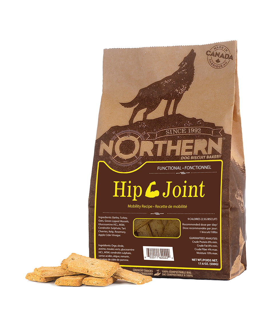 Northern Biscuit Hip & Joint Dog Treats, 500-gram