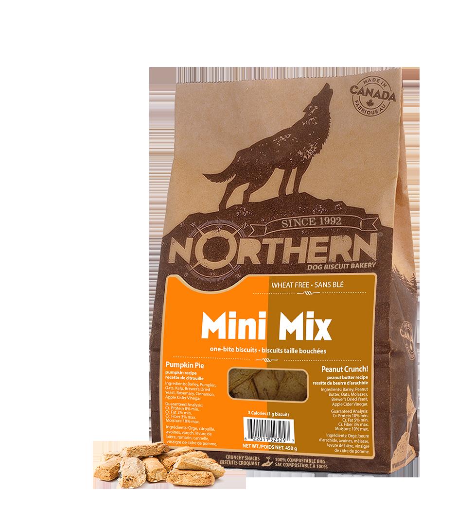 Northern Biscuit Mini Mix Pumpkin Pie & Peanut Crunch! Dog Treats Image