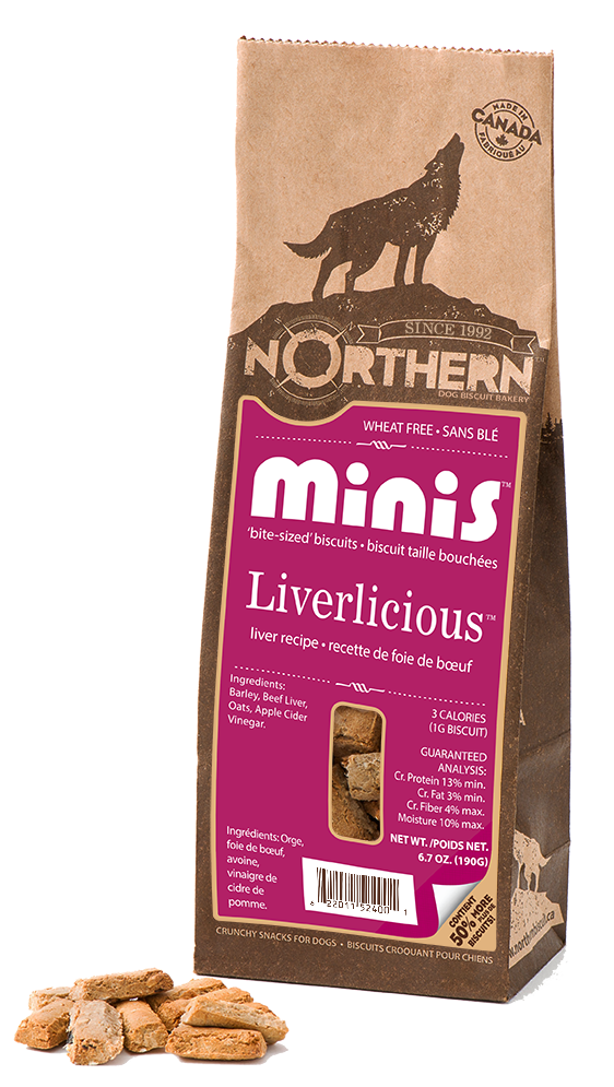 Northern Biscuit Liverlicious Minis Dog Treats Image