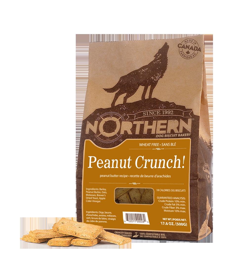 Northern Biscuit Peanut Crunch! Dog Treats, 500-gram