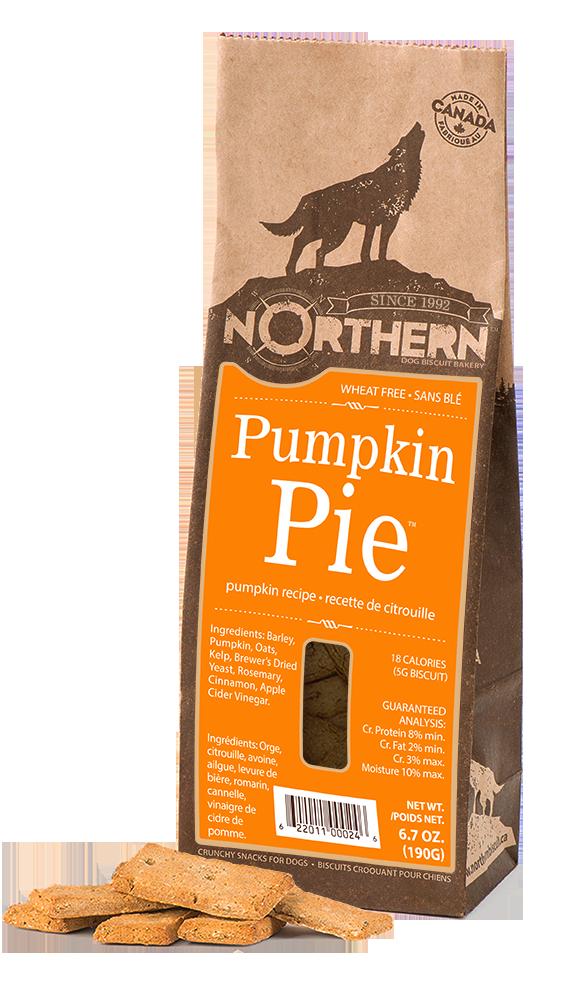 Northern Biscuit Pumpkin Pie Dog Treats, 190-gram