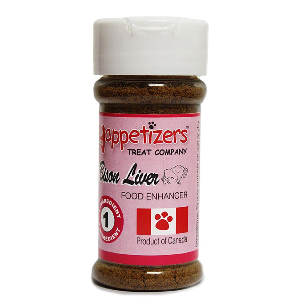Yappetizers Bison Liver Dog Food Topper, 50-gram