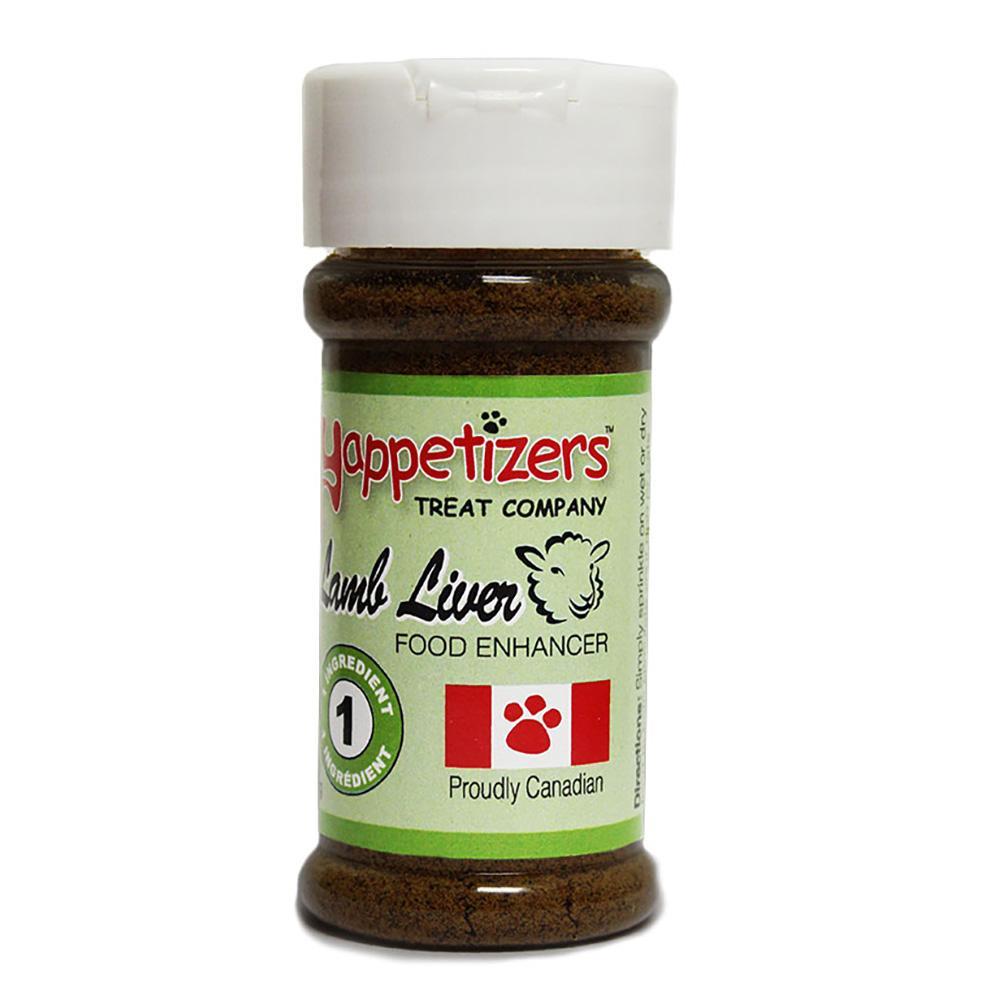 Yappetizers Lamb Liver Dog Food Topper, 50-gram