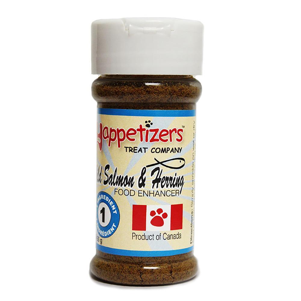 Yappetizers Salmon & Herring Dog Food Topper, 50-gram