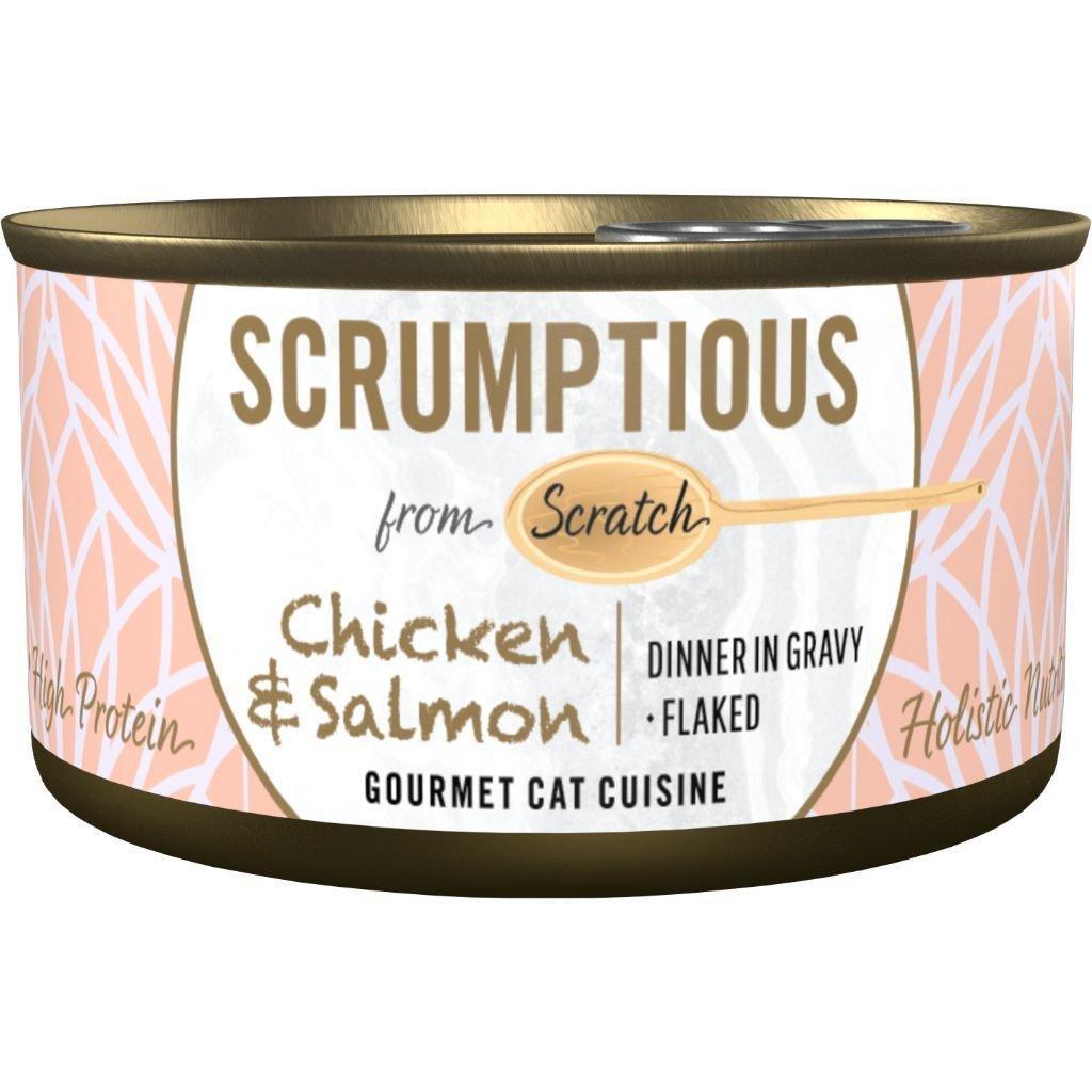 Scrumptious Gourmet Chicken & Salmon Wet Cat Food Image