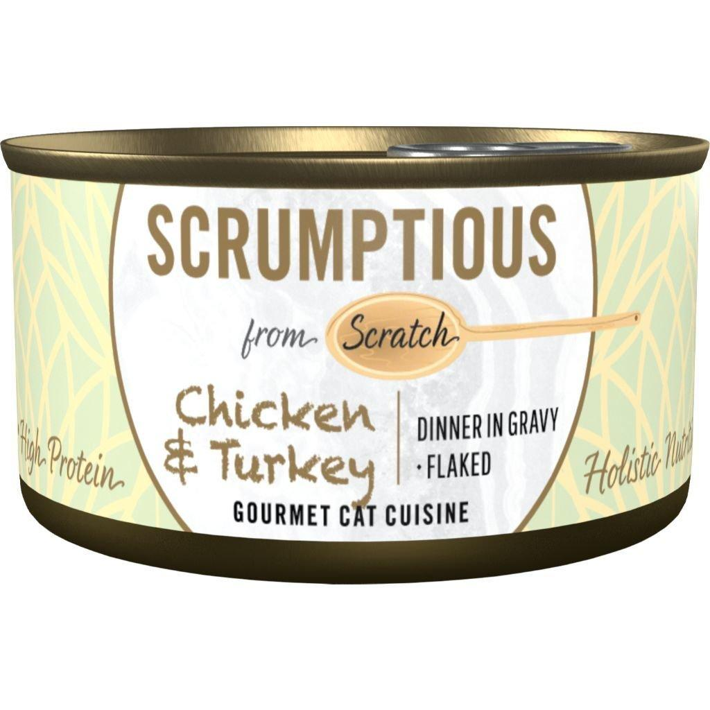 Scrumptious Gourmet Chicken & Turkey Wet Cat Food Image