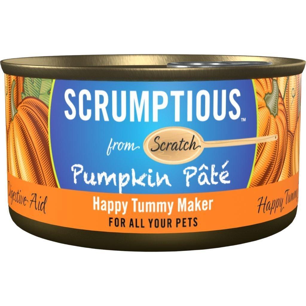 Scrumptious Gourmet Pumpkin Pate Wet Cat Food Image