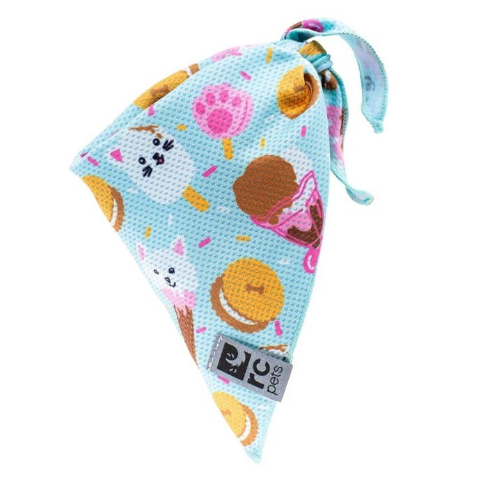 RC Pet Zephyr Cooling Bandana, Ice Cream, Large