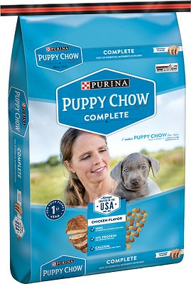 Puppy Chow Complete Chicken Flavor Dry Dog Food, 16.5-lb bag