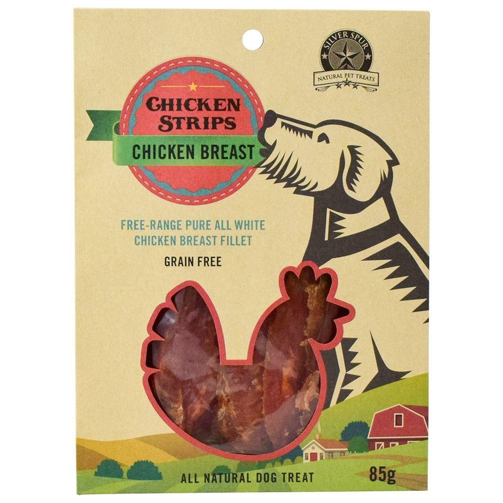 Silver Spur Chicken Strips Chicken Breast Jerky Dog Treats Image