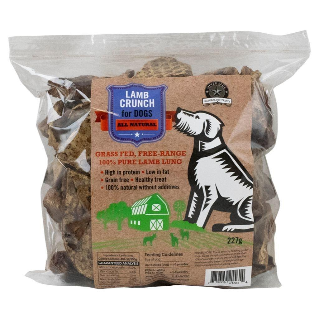 Silver Spur Lamb Lung Crunch Dog Treats Image