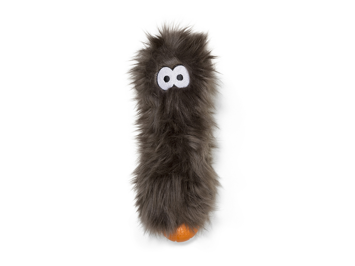 West Paw Custer Dog Toy, Pewter Fur