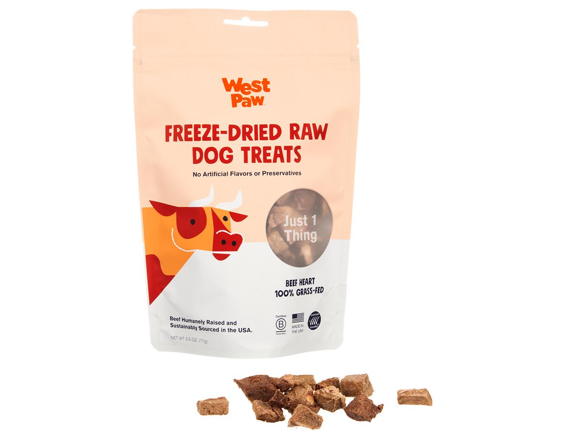 West Paw Beef Freeze-Dried Raw Dog Treats, 2.5-oz