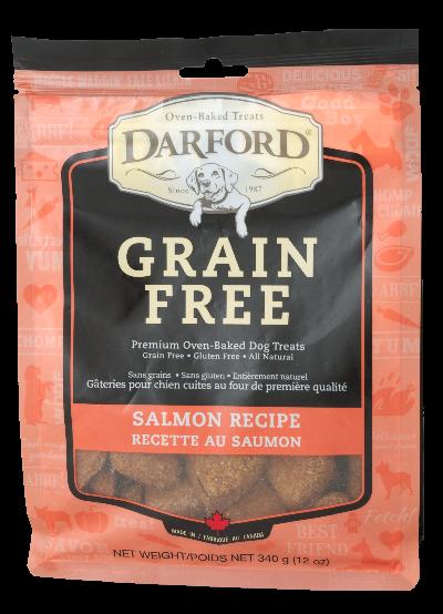 Darford Salmon Grain-Free Dog Treats, 340-gram