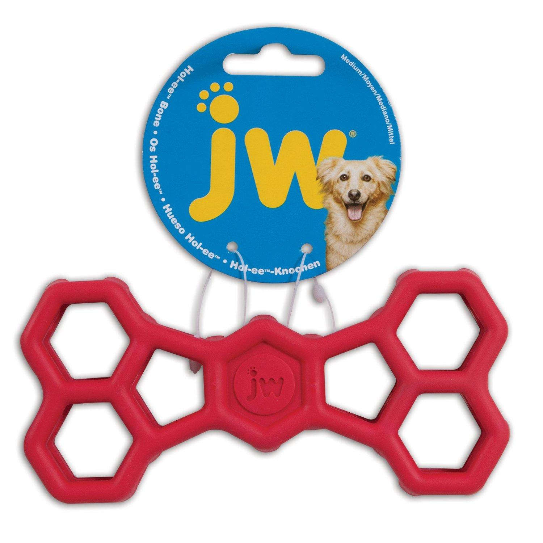 JW Pet Hol-ee Bone Dog Chew Toy, Small