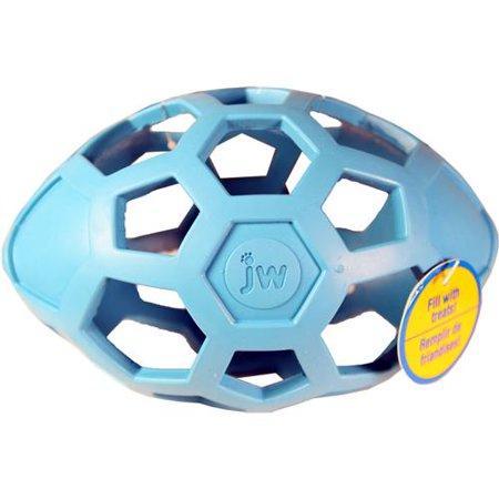 JW Pet Hol-ee Roller Egg Dog Toy, Color Varies, Medium