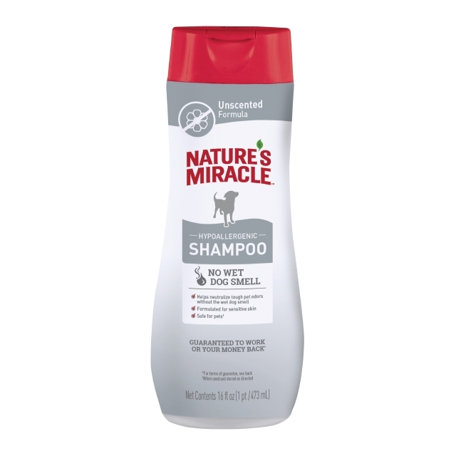 Nature's Miracle Dog Hypoallergenic Shampoo Unscented Formula Image