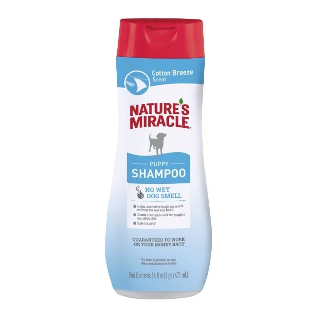 Nature's Miracle Puppy Shampoo Cotton Breeze Scent, 16-oz