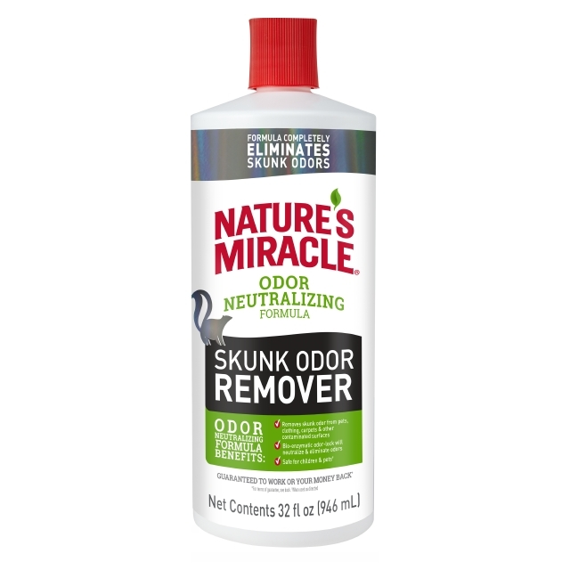Nature's Miracle Dog Skunk Odor Remover Pour Image