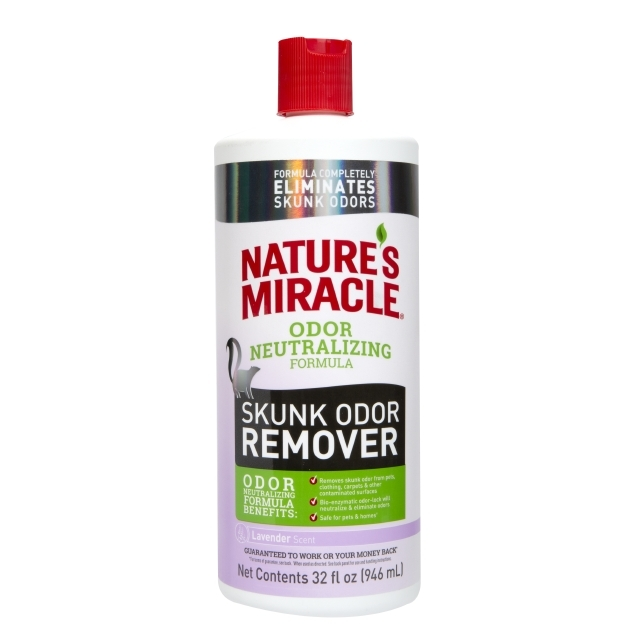Nature's Miracle Dog Skunk Odor Remover Pour Lavender Scent Image