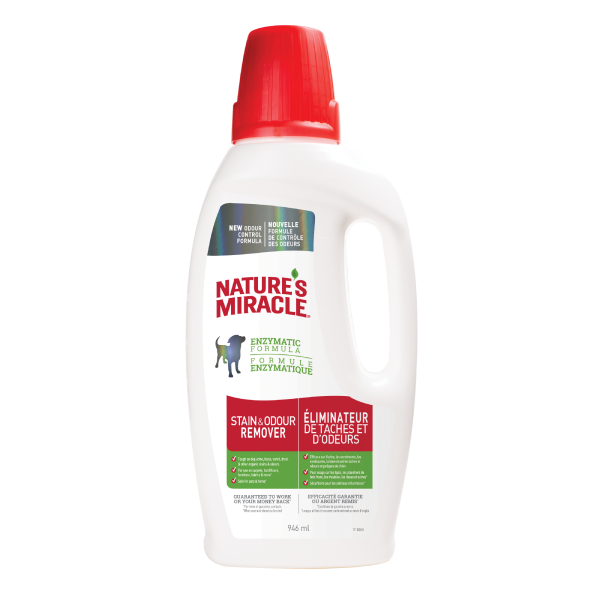 Nature's Miracle Dog Stain & Odor Remover Pour Image