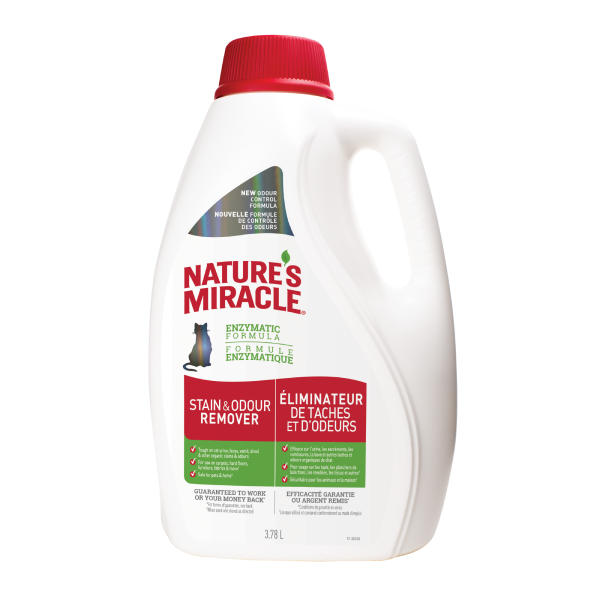 Nature's Miracle Cat JFC Stain & Odor Remover, 32-oz