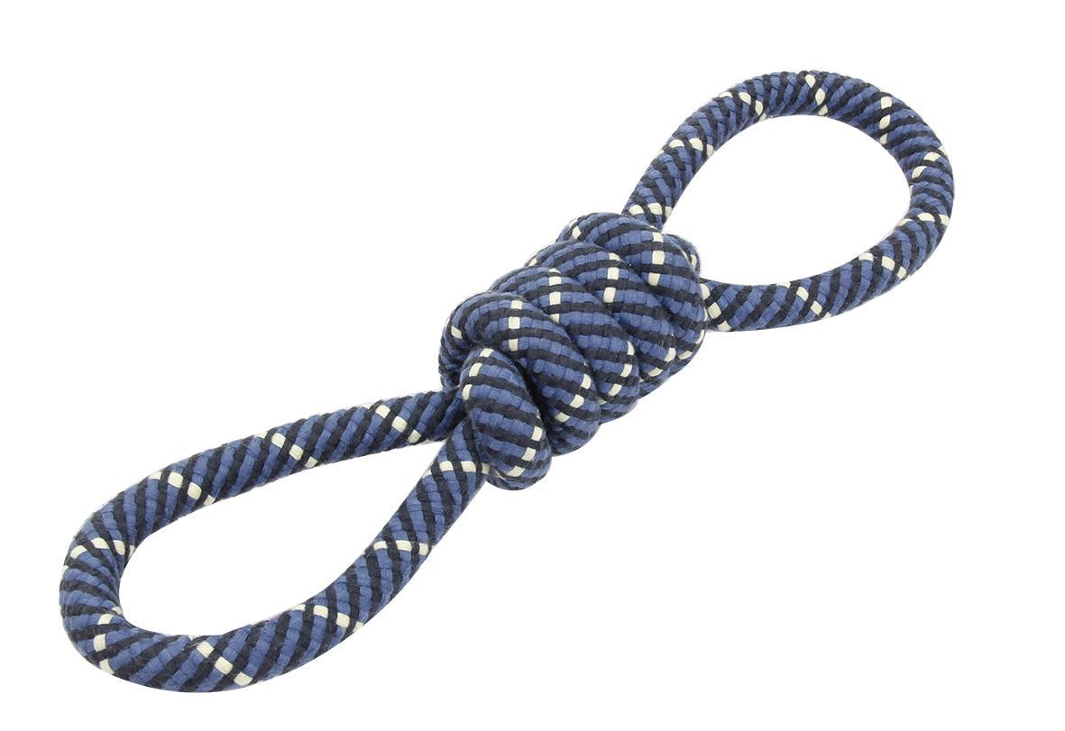 Bud'z Rope In Shape Of 8 Dog Toy, 16.5-in/42-cm