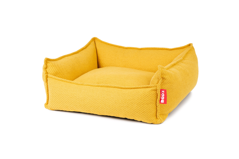 Bud'z Cuddler Anemone Dog Bed, Mustard, 70 x 60 x 22-cm Size: 70 x 60 x 22-cm