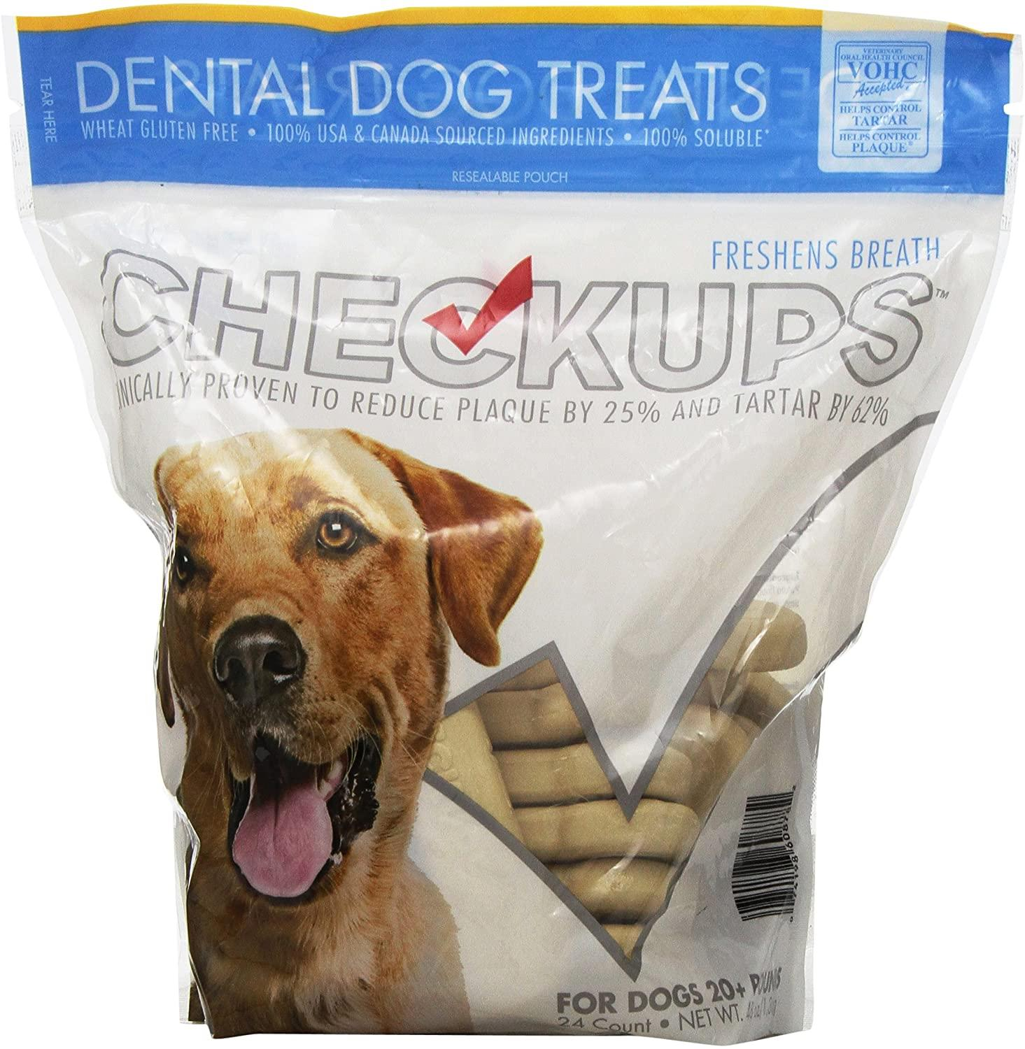 Checkups Dental Dog Treats Image