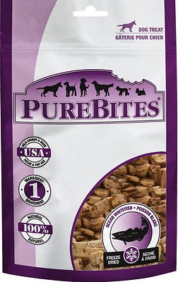 PureBites Ocean Whitefish Freeze-Dried Dog Treats, 1.8-oz