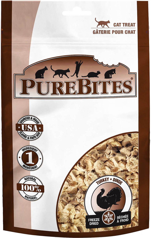 PureBites Turkey Breast Freeze-Dried Cat Treats Image