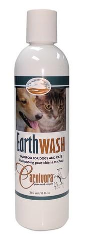 Carnivora Earth Wash Cat & Dog Shampoo, 250-mL