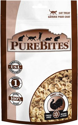 PureBites Turkey Breast Freeze-Dried Cat Treats, 0.49-oz bag