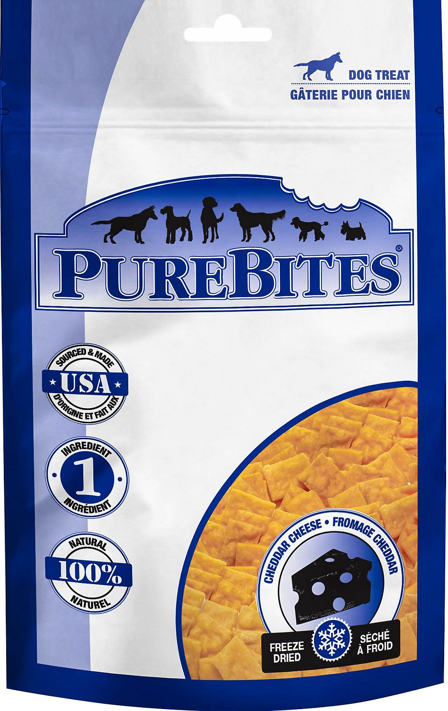 PureBites Cheddar Cheese Freeze-Dried Dog Treats Image