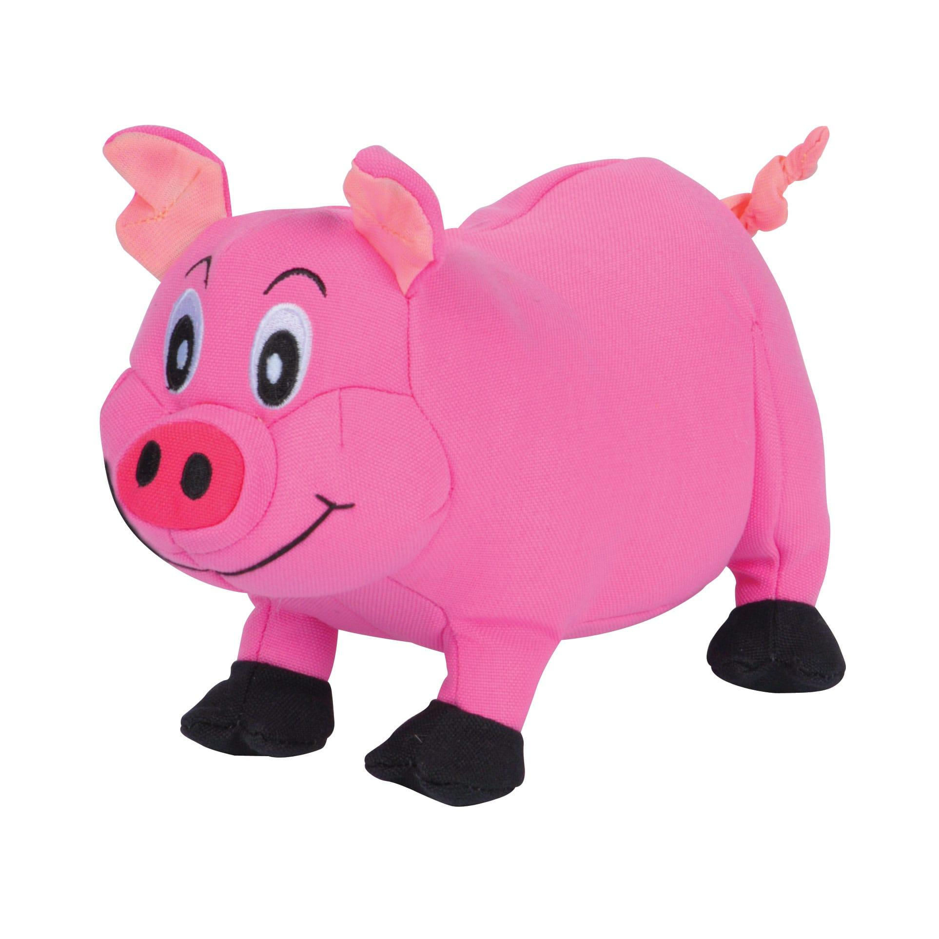 Smart Pet Love Tender-Tuffs Plump Pig Dog Toy, Pink