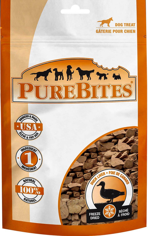 PureBites Duck Liver Freeze-Dried Dog Treats Image