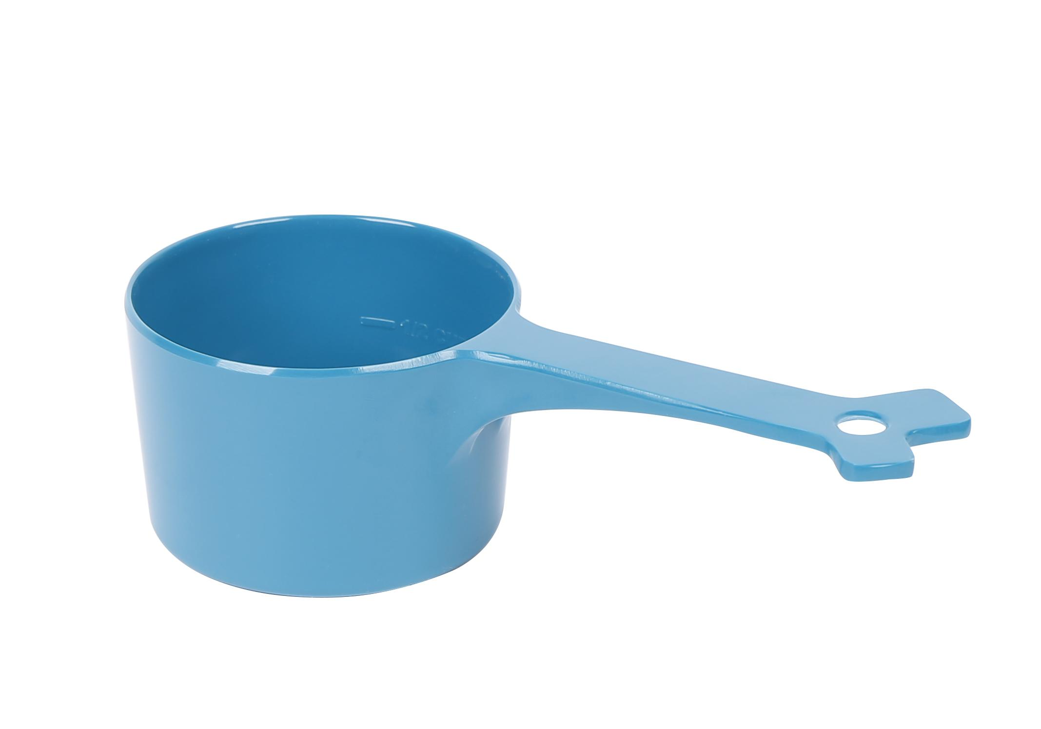 Messy Mutts Dog Food Scoop, Blue
