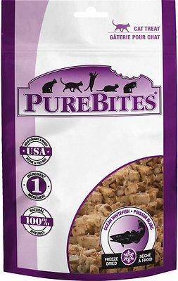PureBites Ocean Whitefish Freeze-Dried Cat Treats, 0.38-oz bag